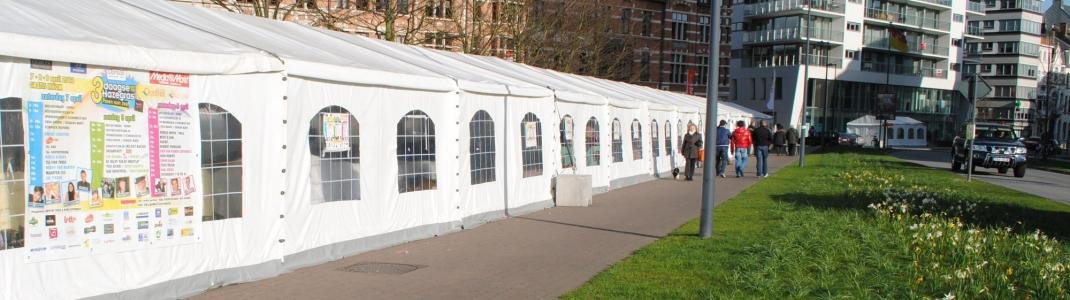 Kleine tenten Aafest