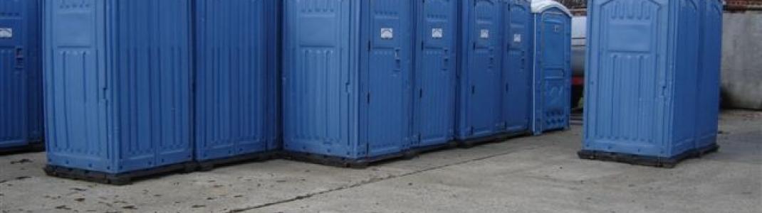 Verhuur van mobiele toiletten